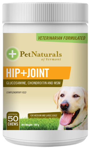 Pet Natural Hip & Joint Chews for Medium and Large Dogs