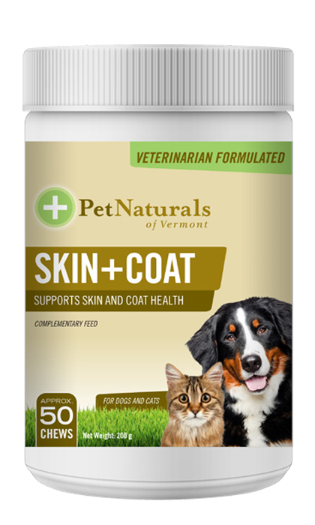Pet Natural Skin+Coat For Dogs  & Cats