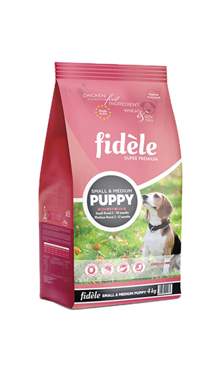 Fidele Small & Medium Puppy  4 Kgs