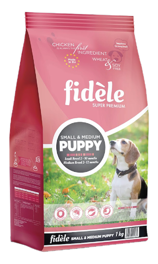 Fidele Small & Medium Puppy 15 Kgs