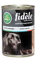 Fidele Adult Pate Chicken ( Pack Of 4 )