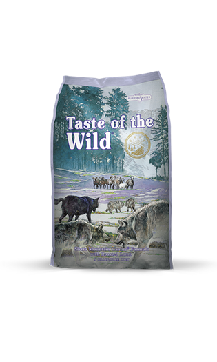 Taste Of The Wild - Sierra Mountain Canine Recipe With Roasted Lamb