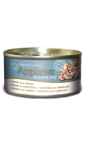 Applaws Cat Tin Sardine with Shrimp with Tasty Jelly