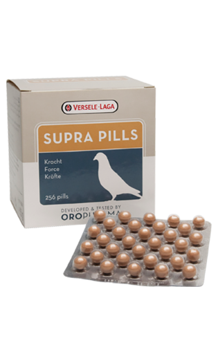 Bird Food Orph. Supra Pills 256Tab