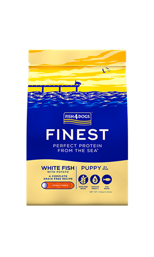 FISH4DOGS FINEST OCEAN WHITE FISH PUPPY