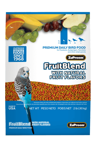 Zupreem Fruit Blend Premium Food For Small Parrots 907 Gms