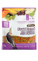 Zupreem Fruit Blend Premium Food For Medium Parrots 907 Gms