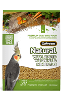 Zupreem Natural With Added Vitamins & Minerals (M)1 Kgs