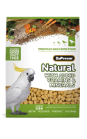 Zupreem Natural With Added Vitamins & Minerals For Large Birds 1 Kgs