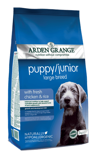 Arden Grange Puppy Junior Large Breed 12 Kgs