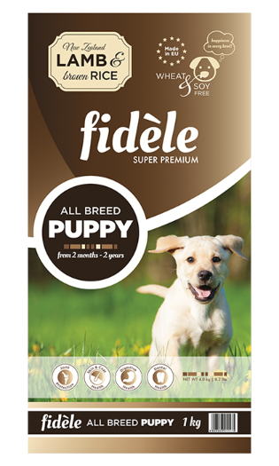 Fidele Puppy Lamb & Rice