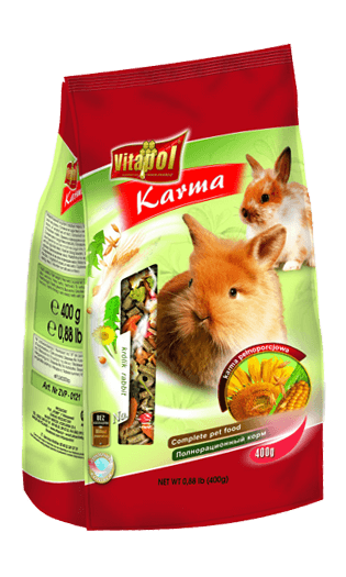 Vitapol Food For Rabbit 400 Gms