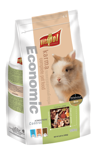 Economic Food For Rabbits 1.2 Kgs