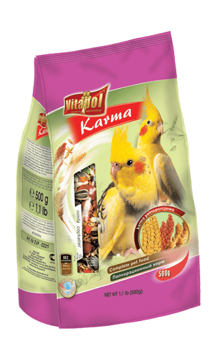 Vitapol Food For Cockatiel  500 Gms