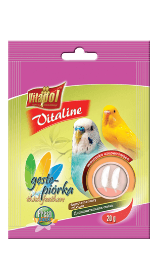 Vitapol Vitaline Moulting Food For Parrots 20 Gms
