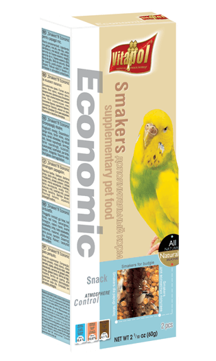 Vitapol Economic Smakers For Budgie 60 Gms