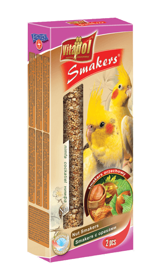 Vitapol Nut Smakers For Cockatiel 90 Gms