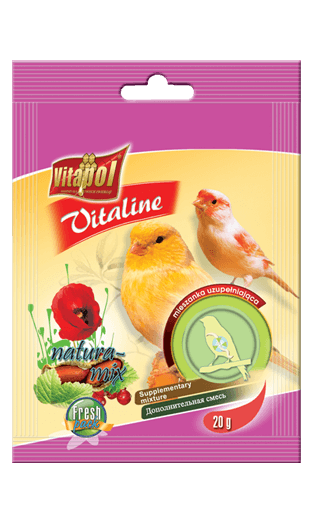 Vitapol Vitaline Mix Natura For Canary 20 Gms